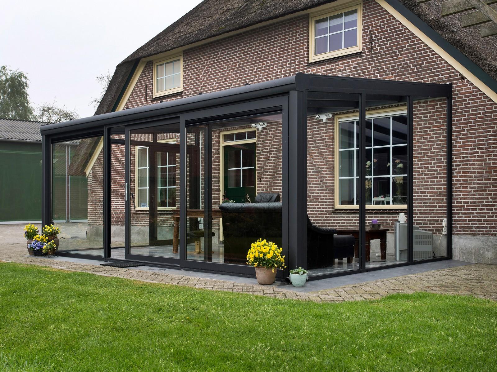 Ongebruikt Tuinkamer Daard - Luxeterrasoverkapping.nl AC-72